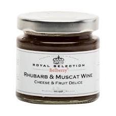 Rabarbarų ir Muskato vyno džemas prie sūrio 130 g