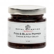 Figų ir juodųjų pipirų džemas prie sūrio, 130g