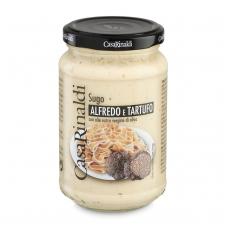 Grietinėlės ir sūrio padažas su trumais, 340 g
