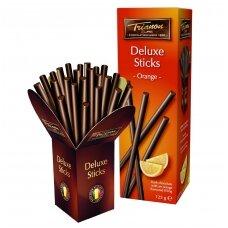Juodojo šokolado lazdelės su apelsinų įdaru, 125g