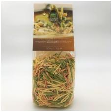 Kietųjų kviečių makaronai su špinatais ir pomidorais, 500g