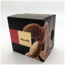 Migdolai su juodu šokoladu, pipirais ir kakavos pudra, 120g