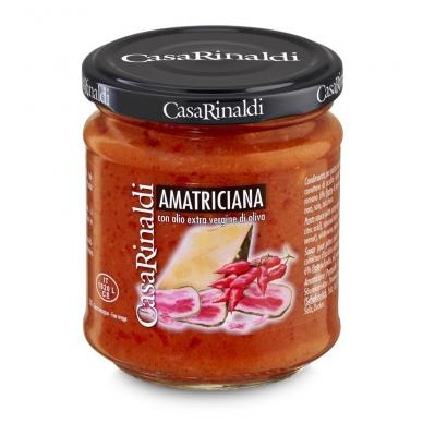 Pomidorų padažas su rūkyta šonine, 190 g