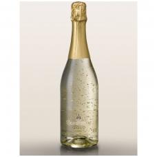 Putojantis vynas GOLD su aukso dulkėmis, 0.75 l