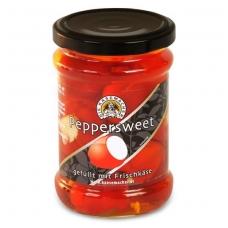 Raudonosios paprikos įdarytos sūriu, 250 g