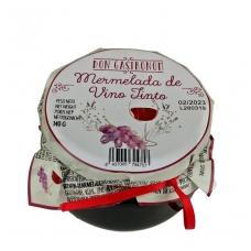 Raudono vyno džemas, 140 g