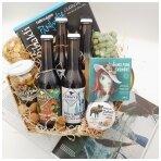 Rinkinys dėžutėje alus ir prie alaus